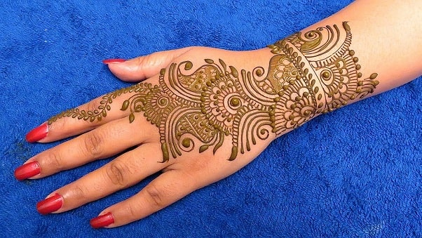 mehndi designs 2018 new style simple