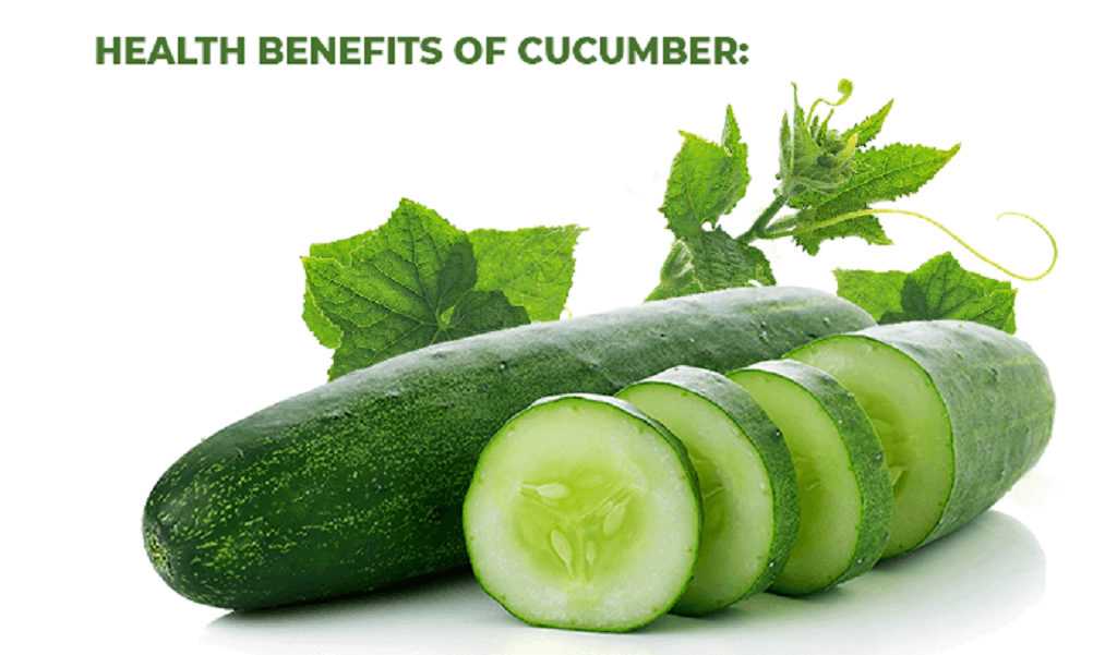 cucumber health benefit