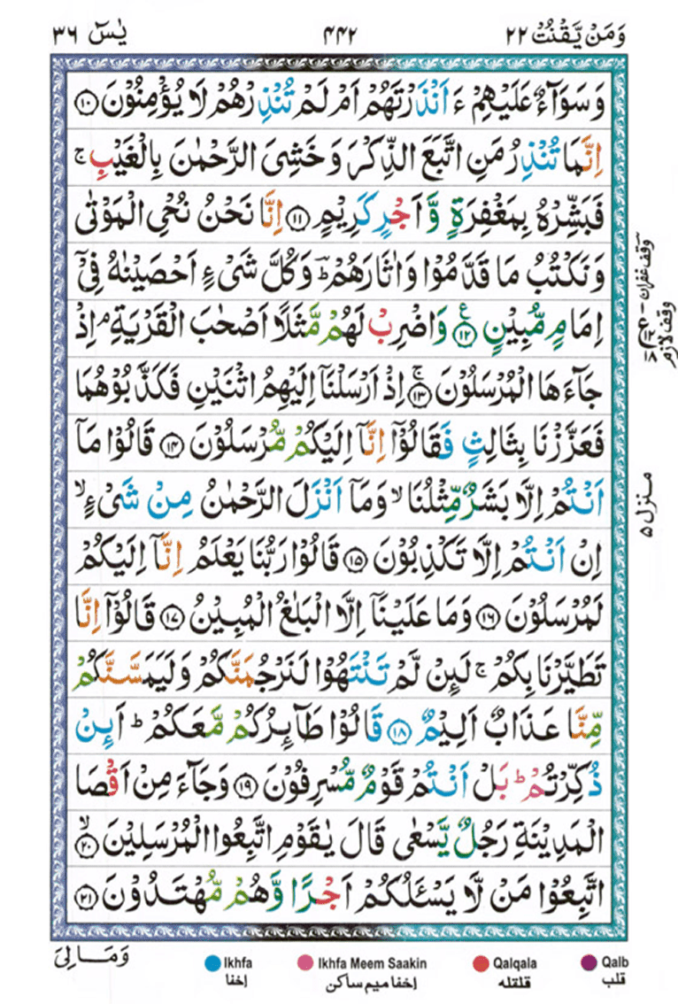 Surah Yaseen Page 2