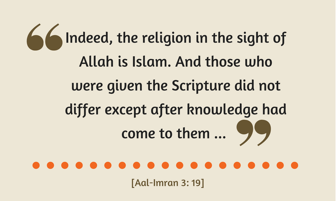 True Religion in the Sight of Allah is Only Islam